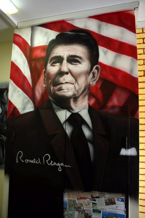 Портрет Рональда Рейгана