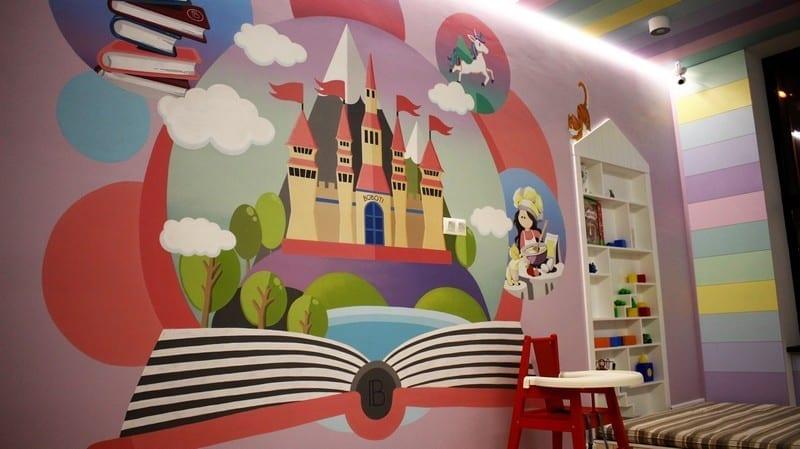 Детская комната в ресторане BOBOTI