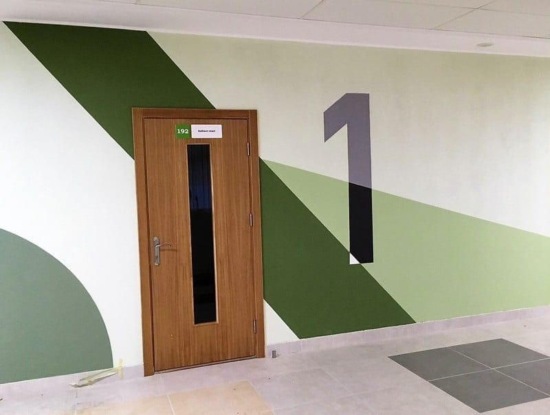 School interior decoration