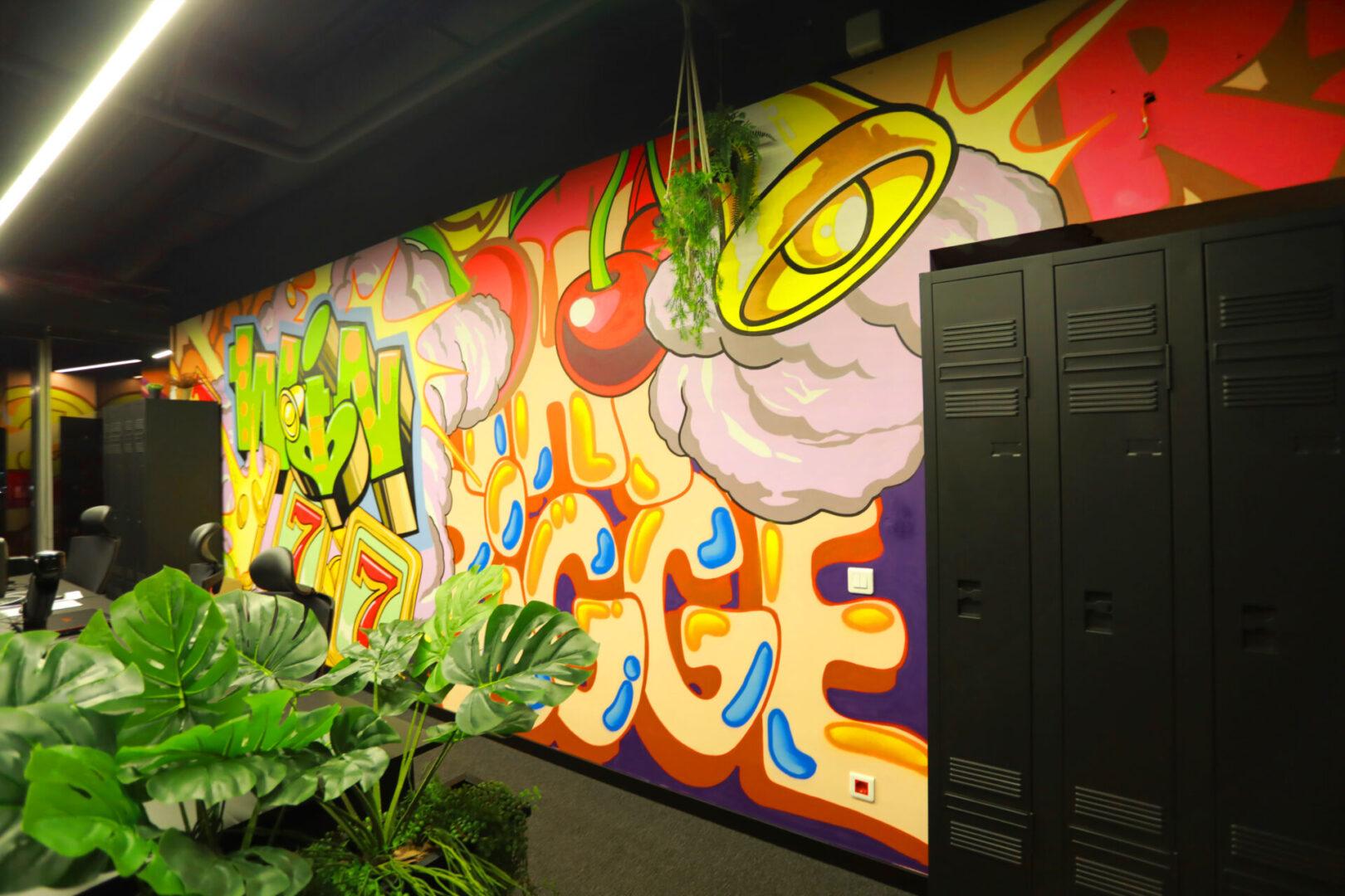 Художественное оформление офиса IT компании (часть 2) UT-ART STUDIO шкафы