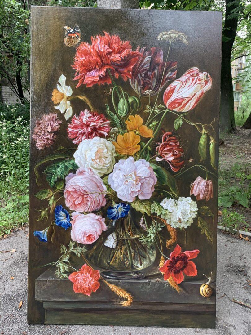 Картина на заказ Копия натюрморта UT-ART STUDIO 3