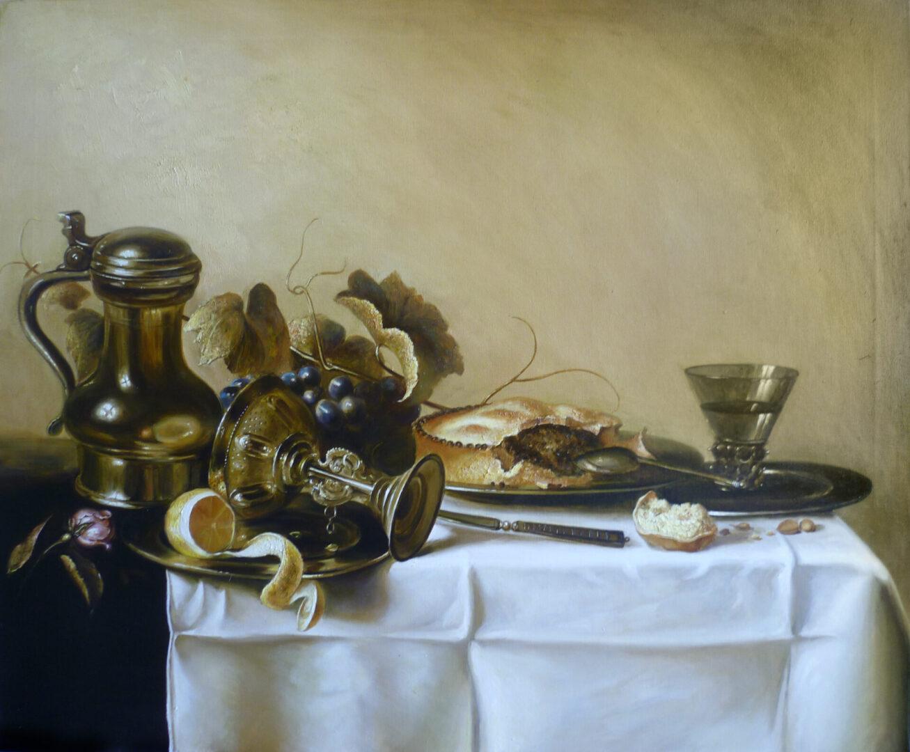 Картина на заказ Копия с Голландского натюрморта 2 - UT-ART STUDIO