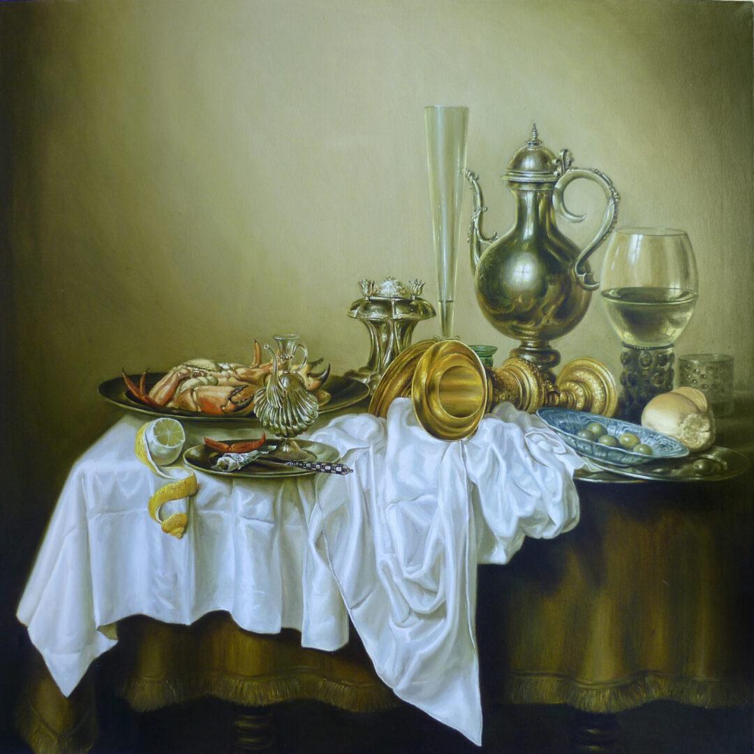 Картина на заказ Копия с Голландского натюрморта - UT-ART STUDIO