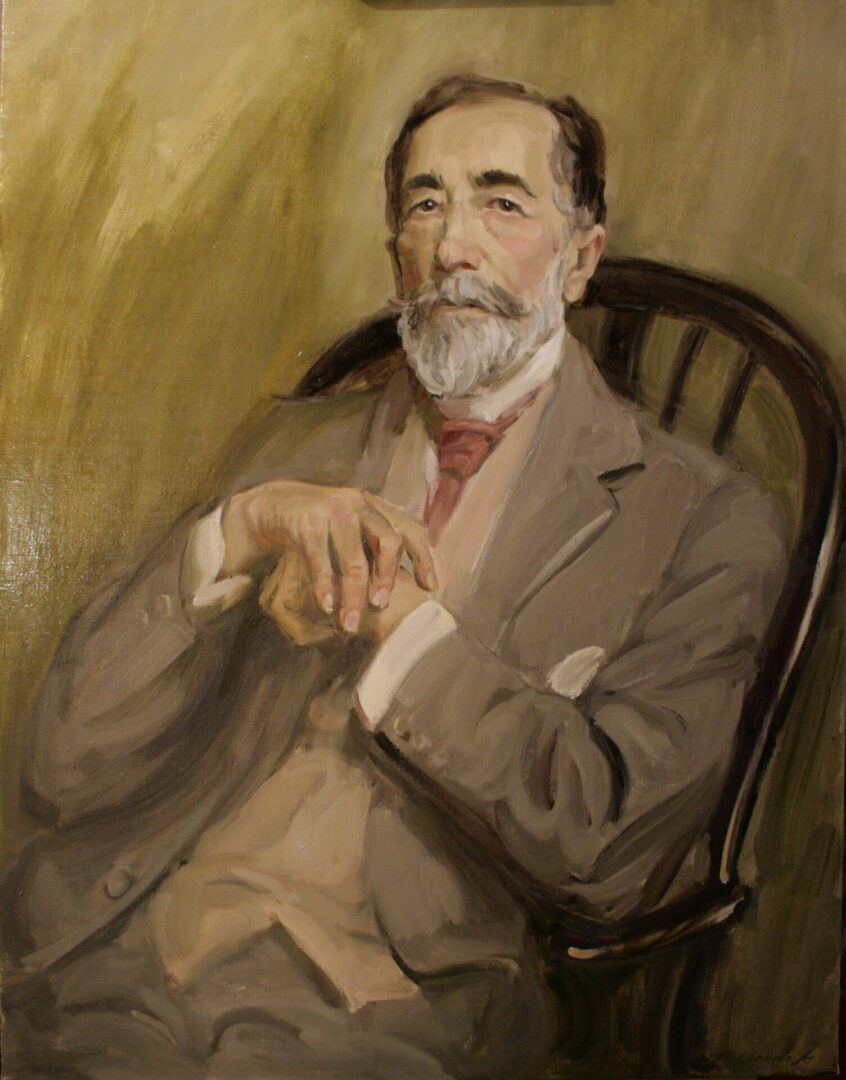 Картина на заказ Портрет писателя Конрада UT-ART STUDIO