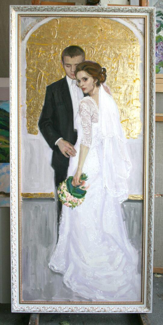 Картина на заказ Свадебный портрет - UT-ART STUDIO
