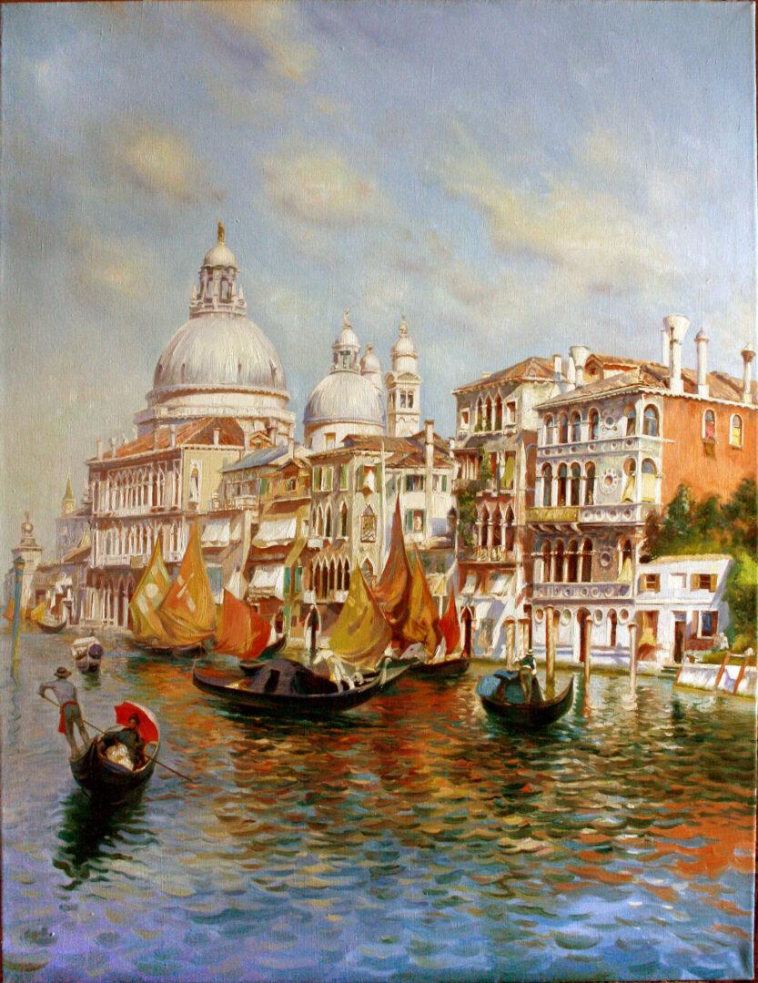 Картина на заказ Венеция - UT-ART STUDIO
