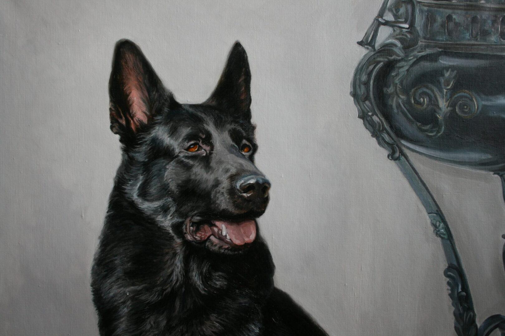 Картина на заказ портрет собаки 2 - UT-ART STUDIO