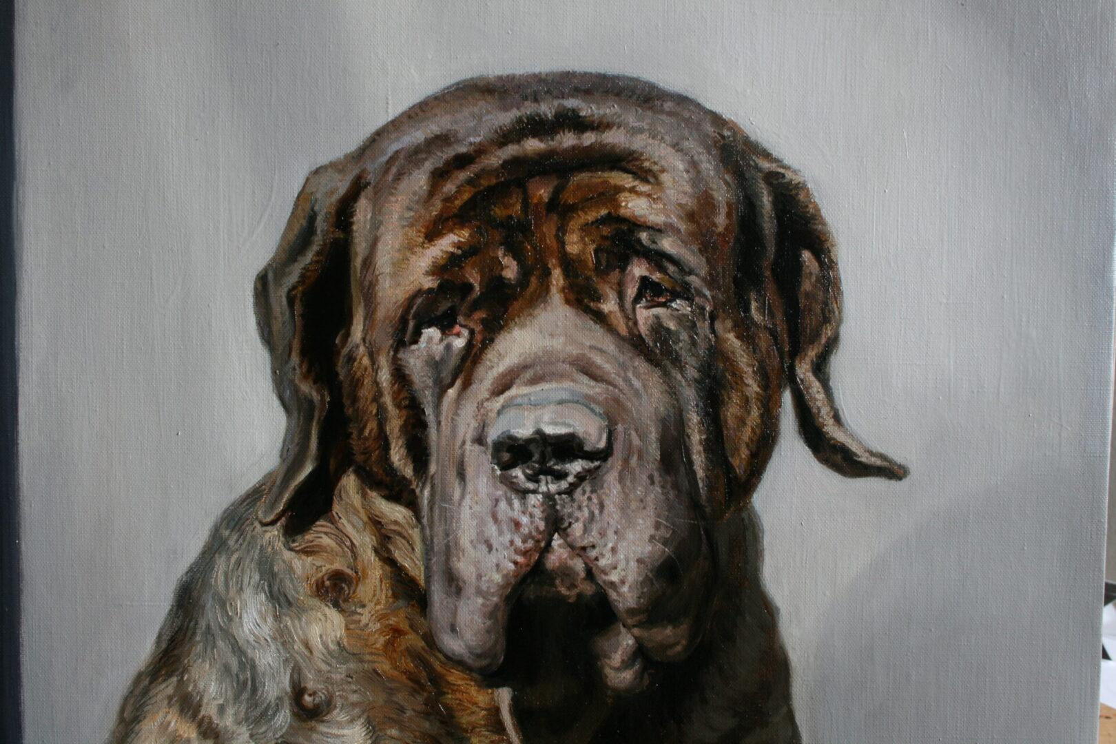 Картина на заказ портрет собаки 3 - UT-ART STUDIO