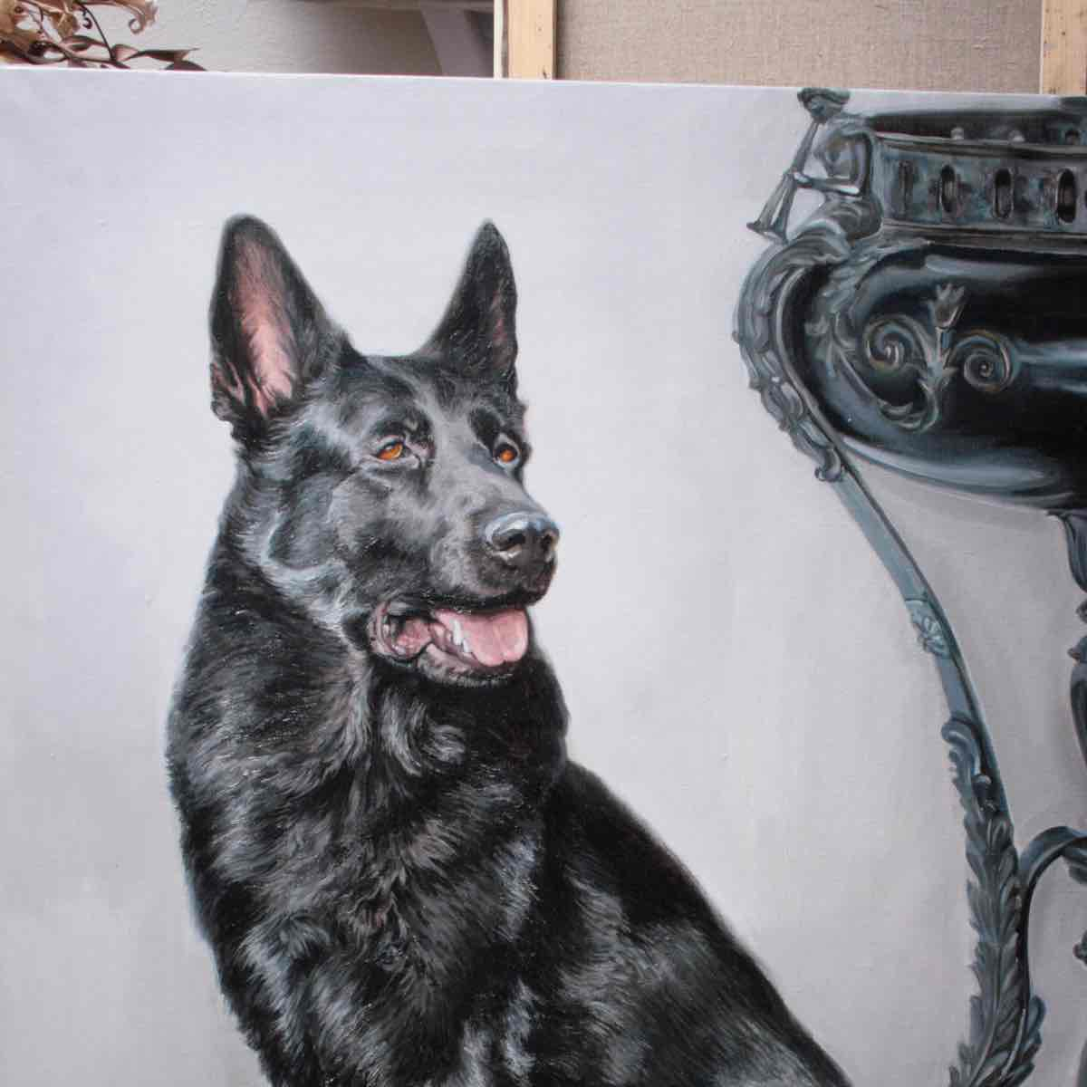 Paintings of a dog